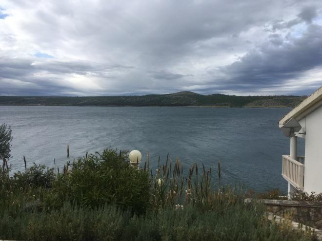 We were stranded at a very beautiful hotel in Posedarje